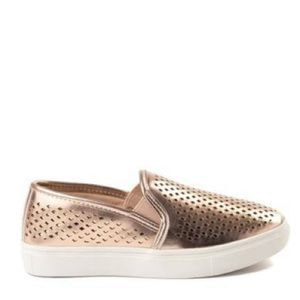 Steve Madden Slip On Casual Sneaker (Rose Gold)